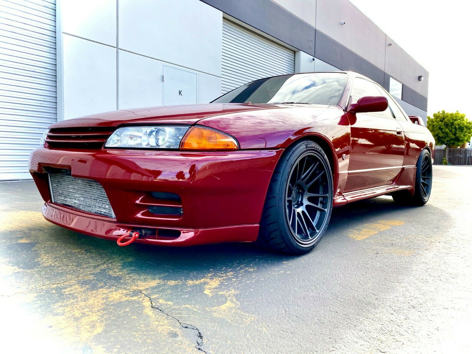 This 1994 Nissan GT-R Skyline is a stunner. But Godzilla is driven from the right side.