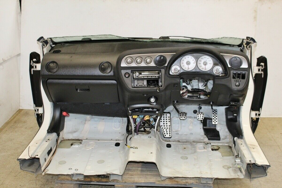 This conversion package for an Acura RSX moves controls to the right.