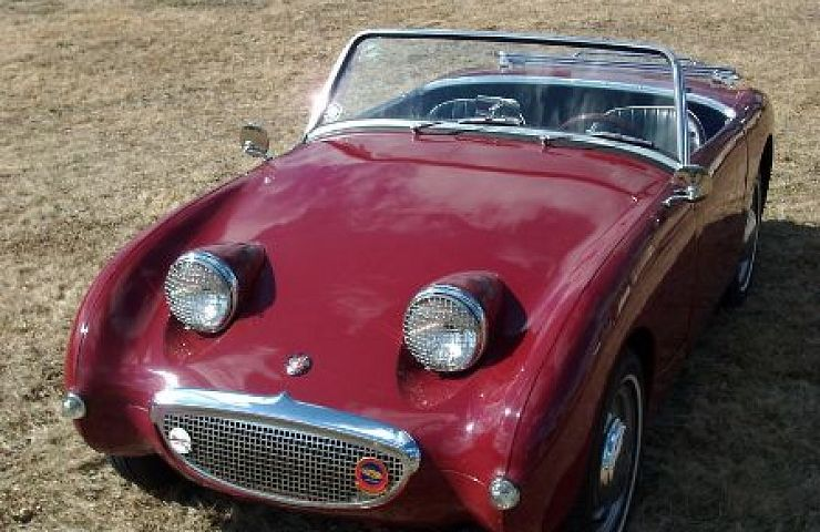 1959 Austin Healey Bugeye Sprite Ebay Motors Blog