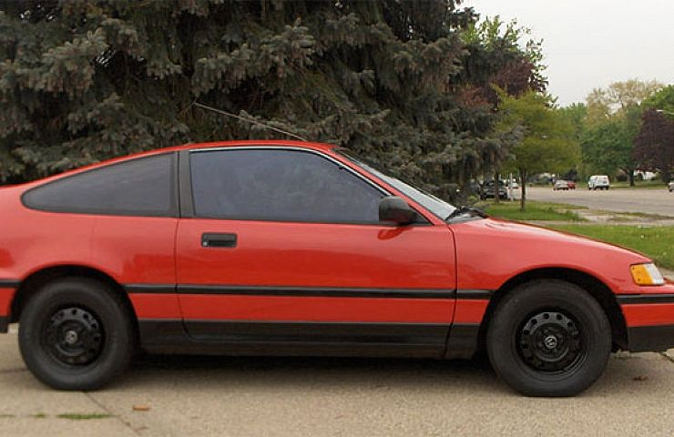 1988 Honda CRX HF | eBay Motors Blog