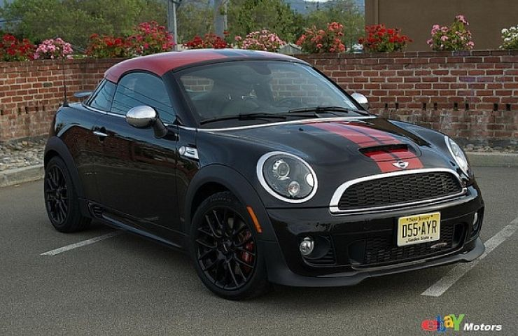 review 2012 mini jcw cooper coupe ebay motors blog. Black Bedroom Furniture Sets. Home Design Ideas