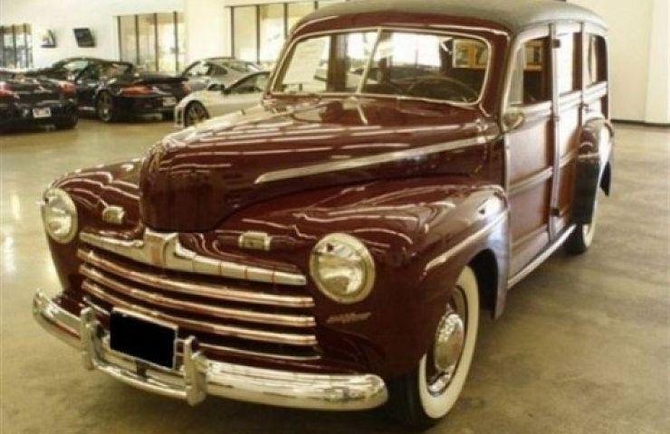 eBay Listing: 1946 Ford Super Deluxe V8 Woo | eBay Motors Blog
