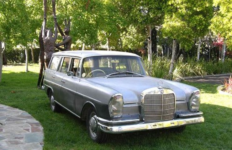 For vintage mercedes station wagon that interfere