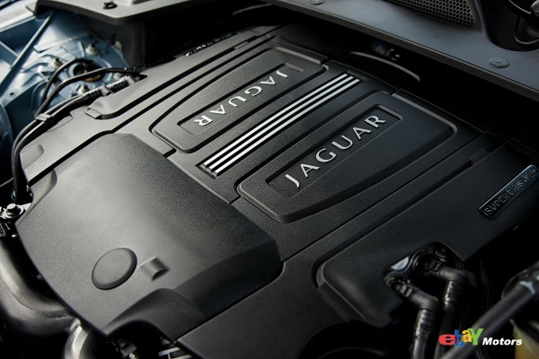 470 hp 5.0L supercharged V8