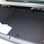VW CC trunk has 13 cubic feet of storage space