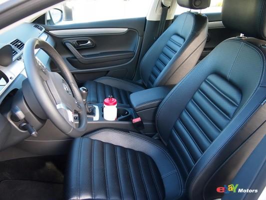 2013 Volkswagen CC front seats