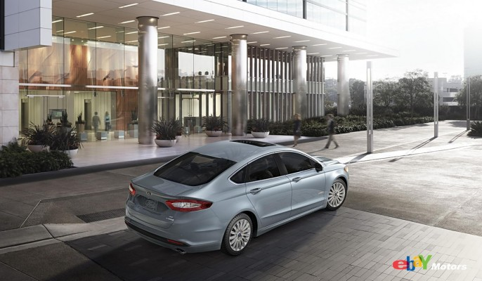 All-New 2013 Ford Fusion Hybrid