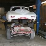 1963 Chevrolet Corvette frame & chassis