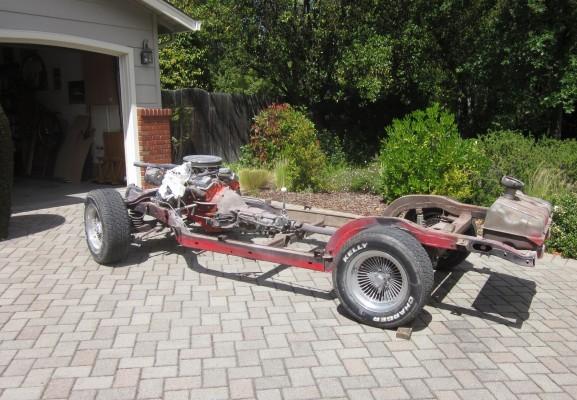 1963 Chevrolet Corvette chassis