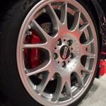 BBS 18-inch wheels, 14-inch Brembo brakes