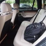 40 / 60 split folding rear seats