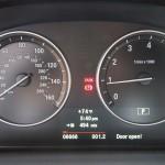 BMW X3 xDrive35i instrument cluster