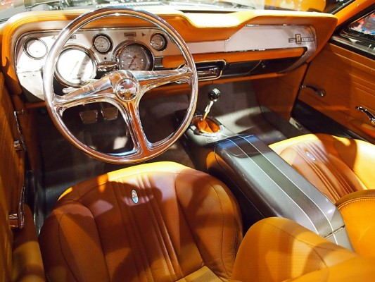 1967 ford mustang gt 500 shelby kardiac 500 interior
