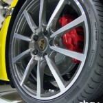 new porsche cayman 20-inch alloy wheel pirelli p zero tires