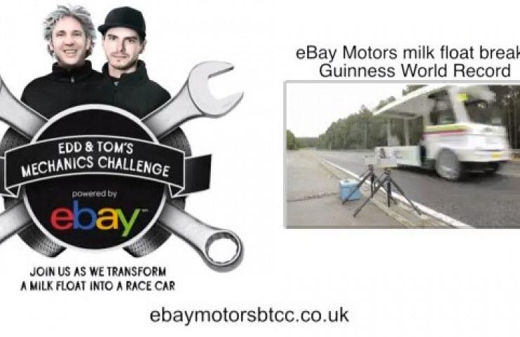 Ebay Motors Btcc Uk Milk Float Breaks World Record Video Ebay Motors Blog