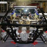 hand-built All steel tube space frame similar to the original