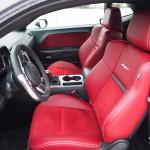2013 Dodge Challenger SRT8 front seats