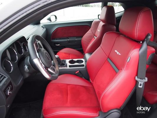 013 Dodge Challenger Srt8 Front Seats Ebay Motors Blog