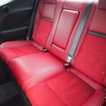 2013 Dodge Challenger SRT8 back seats