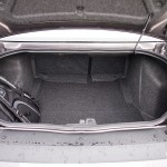 Dodge Challenger trunk space