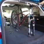 2013 Ford C-MAX Hybrid rear cargo area