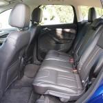 60/40 split folding rear seats