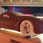 C7 Chevrolet Corvette concept in clay