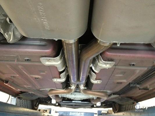 2010 Dodge Challenger SRT8 Flowmaster exhaust kit