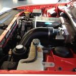 Kenne Bell supercharger installed in a 2010 Dodge Challenger SRT8