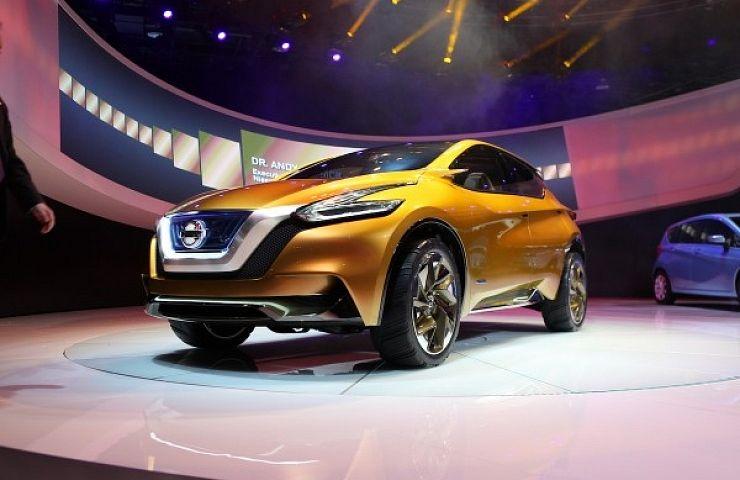Nissan Continues Evolution At Detroit Auto Show EBay Motors Blog - Car show display ideas