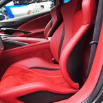 Acura NSX Hybrid Concept carbon fiber and leather seats
