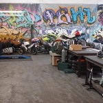Moto Shop 4,000 square feet of work and classroom space