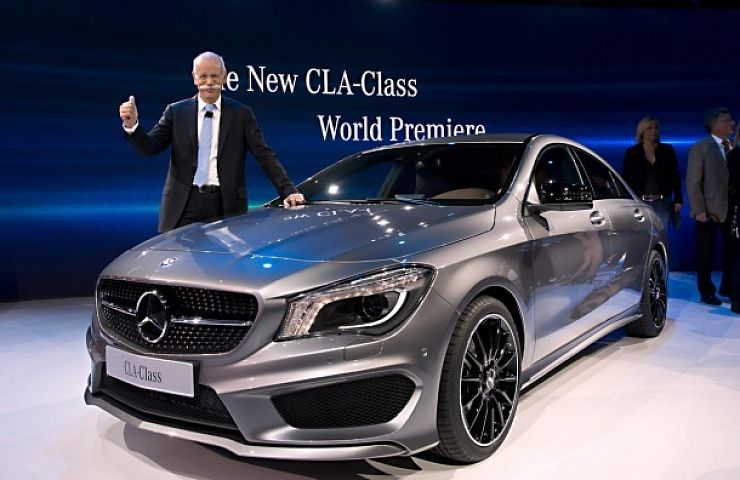 Introduction Of Mercedes Benz New Cla Class At Naias