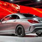 Mercedes-Benz CLA-Class presented at NAIAS Detroit