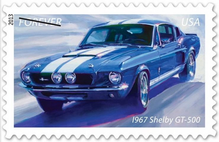 New Usps Stamps Salute Classic Muscle Cars Ebay Motors Blog