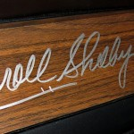 dashboard signed by Carroll Shelby