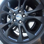 new 17-inch Styx alloy wheels with matte black finish