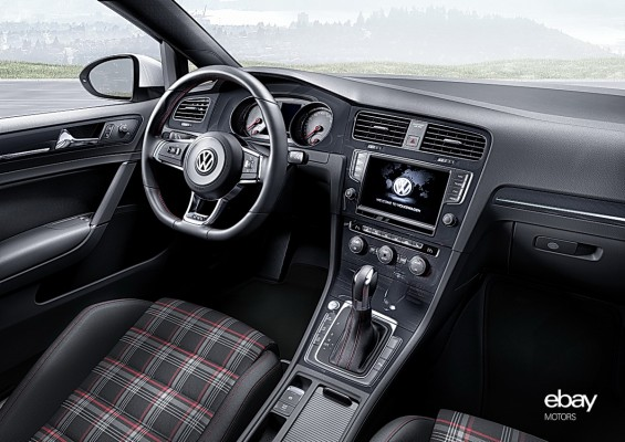 2015 VW Golf GTI Interior