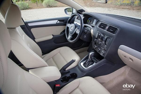 2013 VW Jetta Hybrid Interior