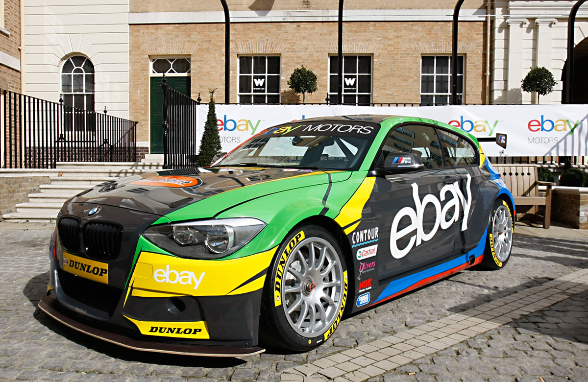 First Look at New eBay Motors Team BMW 125i | eBay Motors Blog