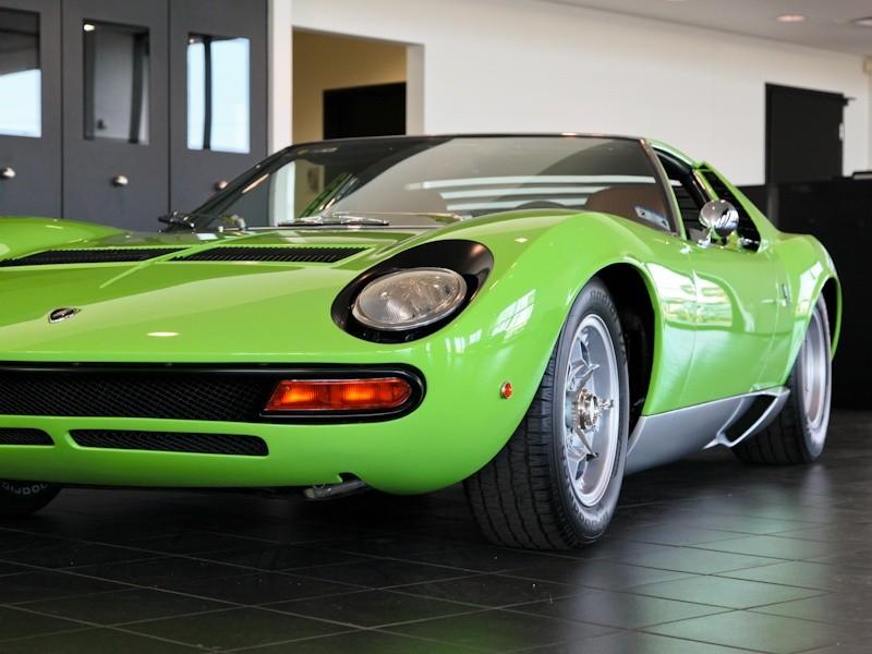 1969 Lamborghini Miura P400 Sv Spec Ebay Motors Blog