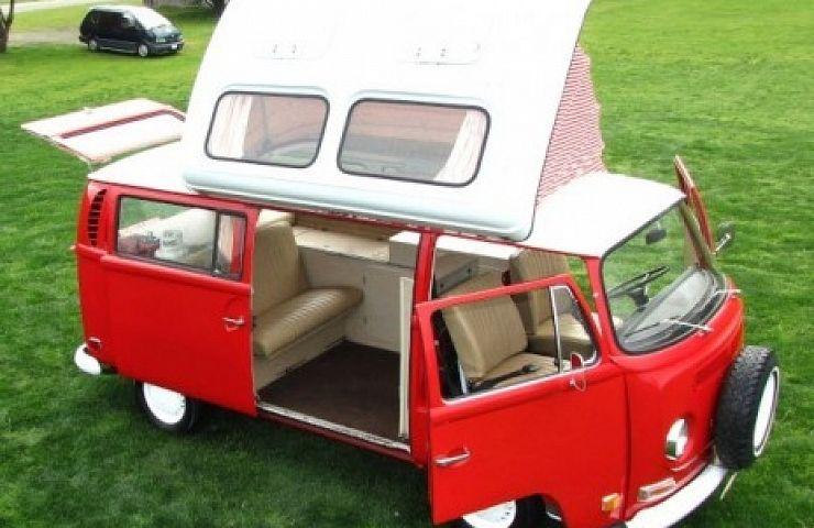 EBay Listing 1971 VW Camper Van By Dormobile