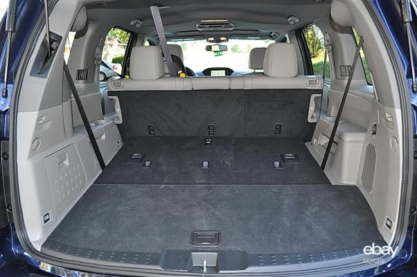 013 honda pilot rear cargo area ebay motors blog. Black Bedroom Furniture Sets. Home Design Ideas
