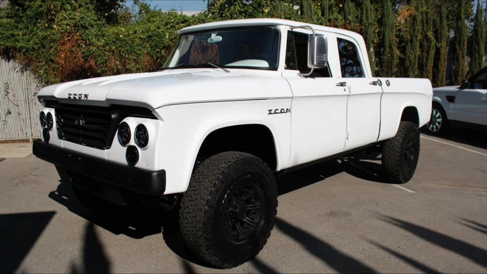 Icon 1965 Dodge D200 Crew Cab Recreation Ebay Motors Blog
