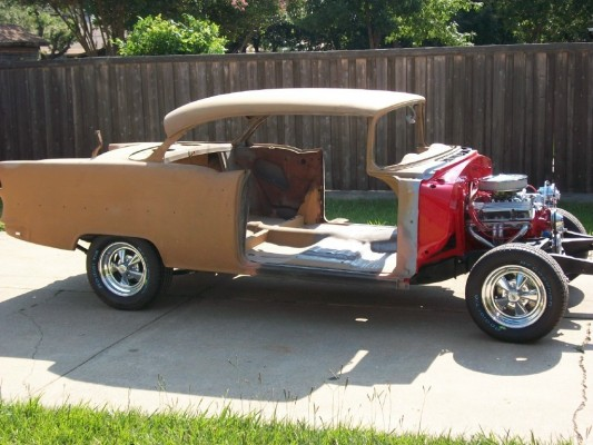 955 Chevrolet Bel Air Restoration Project In Progress Ebay Motors Blog