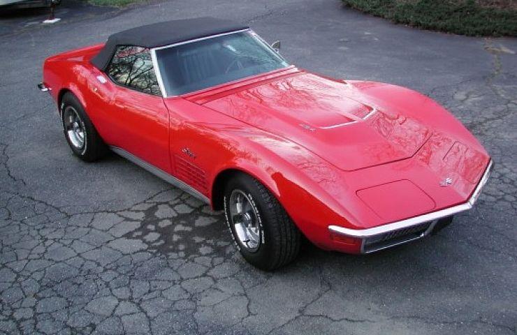 Pre Owned Cars >> 1970 Chevrolet Corvette Stingray Convertible 454 | eBay Motors Blog