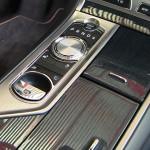 2013 Jaguar XFR interior detail