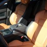 2013 Jaguar XFR front seats