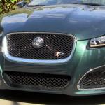 2013 Jaguar XFR front grille