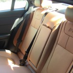 2013 Jaguar XFR back seats